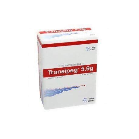 TRANSIPEG 5,9 g poudre solution buvable en Sachets