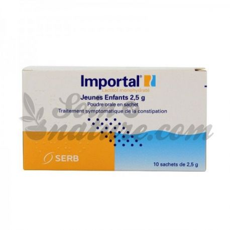 Importal 2.5 g oral solution powder young child 10Sachets
