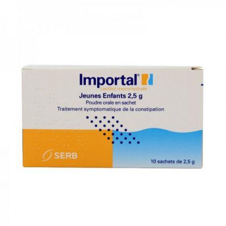 Importal solución de 2,5 g polvo oral jóvenes 10Sachets niño