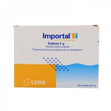 La solució oral 5 g de pols Importal en els nens petits bosses de B / 10