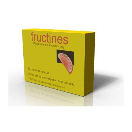 Fructines SÓDIO picossulfato 5 mg Cpr de sucção