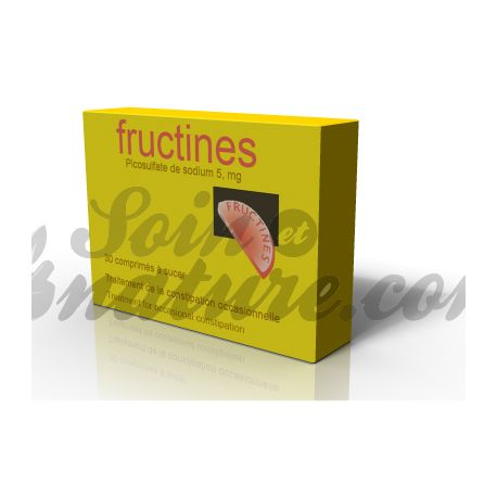 Fructines SODIUM picosulfate 5 mg Cpr sucking