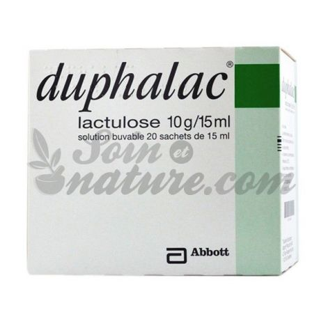 DUPHALAC 10 g/15 ml suspension buvable 20Sachets/15ml