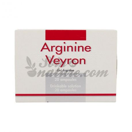 ARGININE VEYRON suspension buvable en ampoule 20Amp/5ml