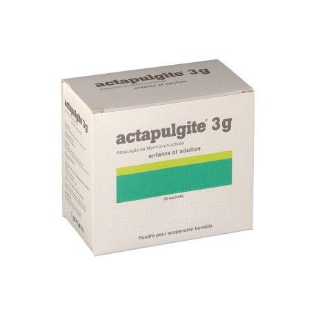 Actapulgite 3 g poeder orale suspensie volwassen kind 30 sachets