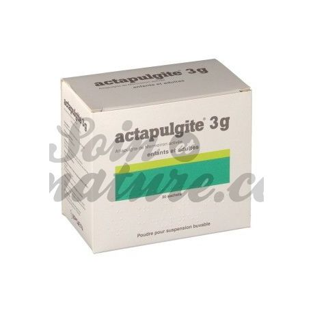 ACTAPULGITE 3 g powder oral suspension adult child 30 Sachets