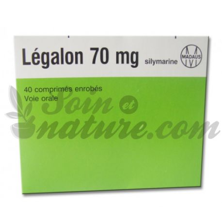 Legalon 70 mg 40 tablets