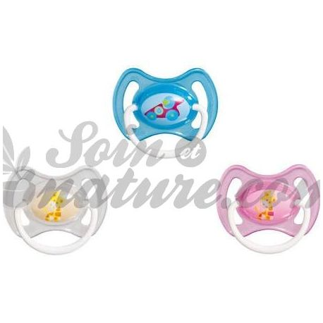 Pacifier Mam Gummiring 6 Monate Lot von 2