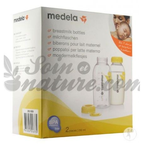 Bottiglie Medela latte materno per i 2 250 ml