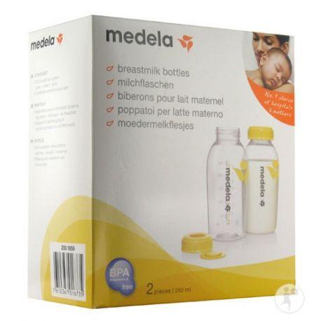 Medela 2 Biberons pour Lait Maternel 250 ml