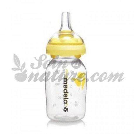 Medela Calma 150ml Flasche zu Muttermilch
