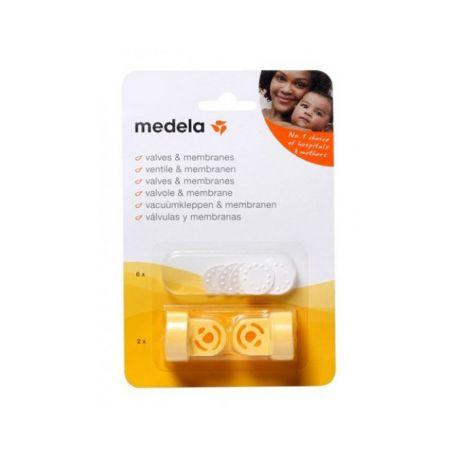 Medela Kit 2 Valves et 6 Membranes