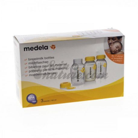 Ampolles de llet materna Medela per 3 150 ml