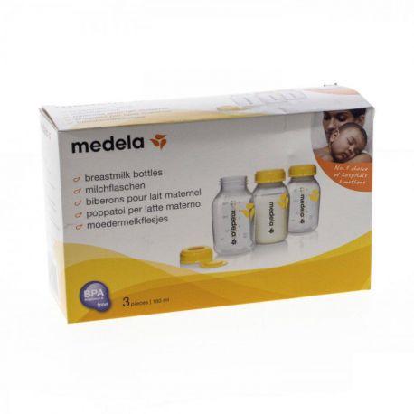 Medela 3 Biberons pour Lait Maternel 150 ml