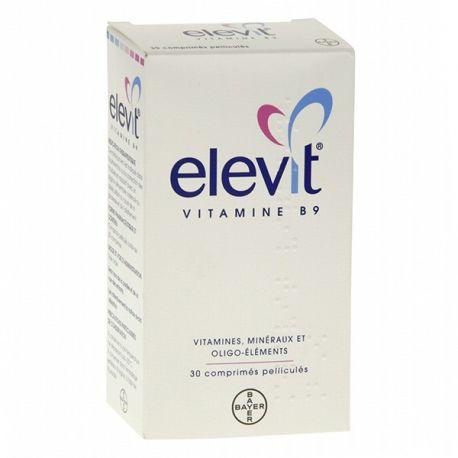 Vitamina B9 Elevit 30 Tabletas