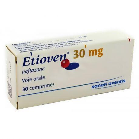 Etioven venotónicas 30 mg 30 Comprimidos
