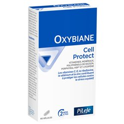 PILEJE OXYBIANE CELL PROTECT 60 GÉLULES ANTI-OXYDANT