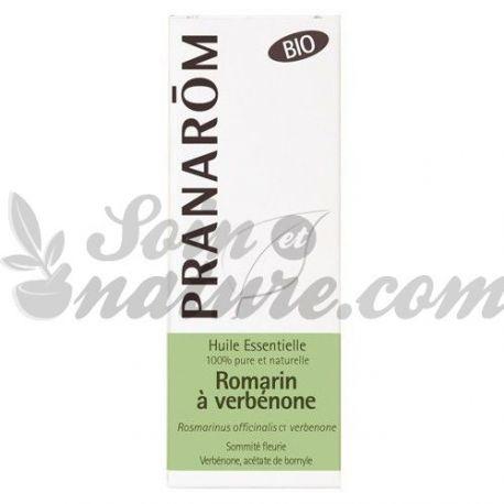 Biologische etherische olie Rozemarijn Verbenone Pranarom 5 ml