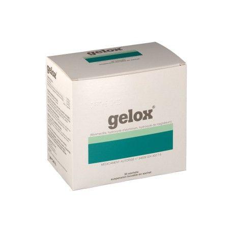 Gelox suspensión bebible 30 sobres