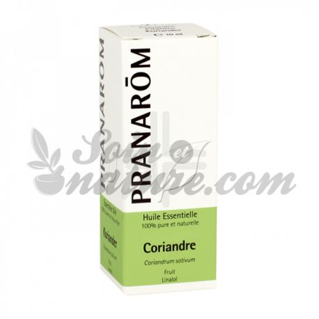 Pranarom Essencial 10 ml d'oli de coriandre
