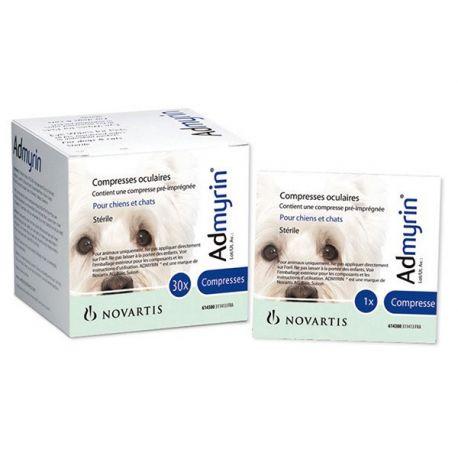 30 Admyrin oog comprimeert honden katten