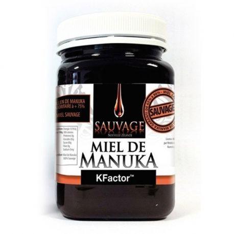 La miel de Manuka salvaje KFactor 16 250g