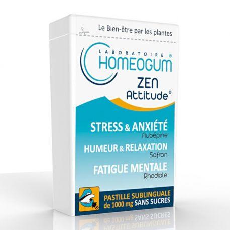 Homeogum Zen Attitude Pastille Sublinguale Boîte 40g
