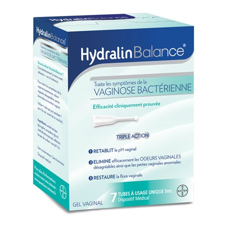 Hydralin Equilibri Gel vaginal 7 monodosi de 5 ml