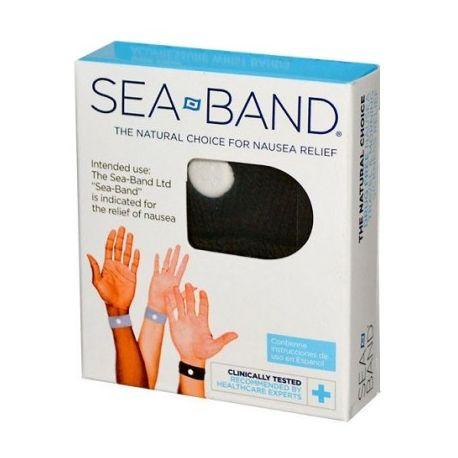 Sigui Band 2 polseres anti Nàusees Negre adult