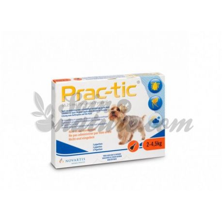 PRAC-TIC VERY LITTLE DOG DOSE 0,45MLX6