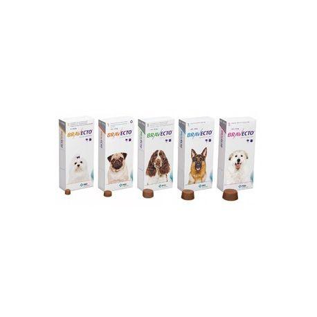 BRAVECTO anti-garrapatas tabletas 4.5-10kg pulgas de perros pequeños
