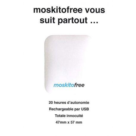 Moskitofree anti-moustique galet blanc Diffuseur Electrique USB