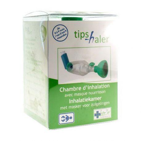 Tips-Haler Chambre Inhalation Masque Nourrisson 9 Mois