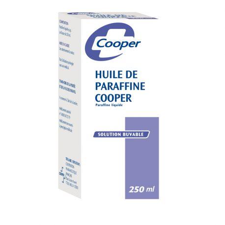 El aceite de parafina COOPER Estreñimiento