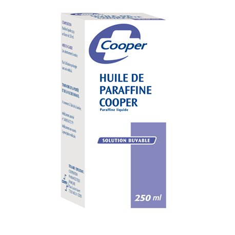 óleo de parafina COOPER constipação