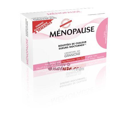 Menopausa suores nocturnos Menogyn 56 Cápsulas