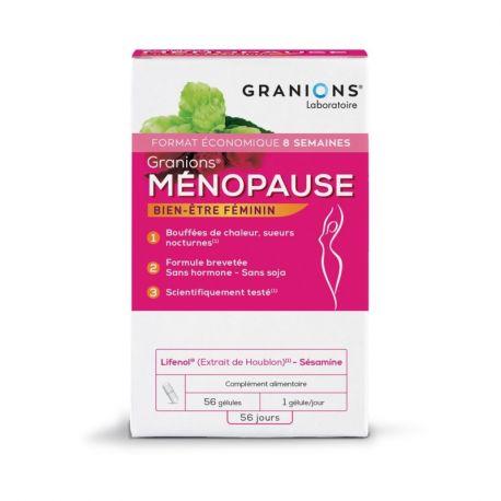 MENOPAUSA MENOGYN Bouffes HEAT 28 cápsulas Granion