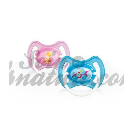 Pacifier Mam Rubber Ring Decor age 1