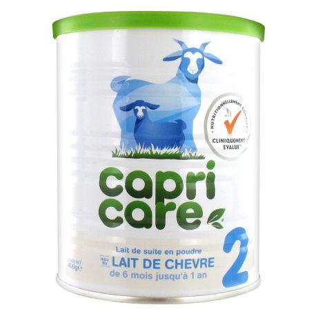 CapriCare 2 Lait de Chèvre 2ème âge Nourrisson Bébé 400g