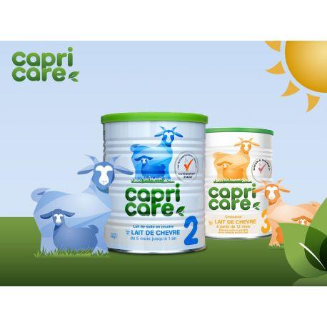 CapriCare 3 Wachstum Milch Ziege Säuglingsbaby 3. Alter 400g