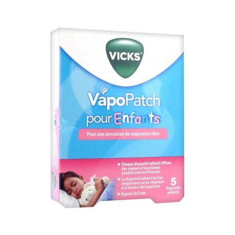 Vicks Vapopatch Pour Enfants Boite de 5 Patchs