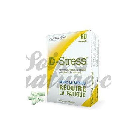 Synergia D-STRESS 80 mg comprimits lluitar contra la fatiga