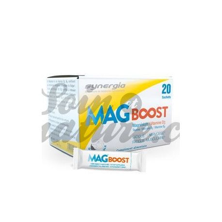 Mag Boost liposomal de magnesio bucodispersable Synergia 20 sobres