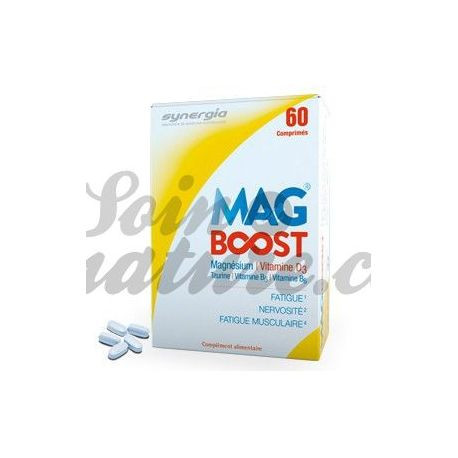 Synergia impulso Mag lipossomas de magnésio 60 comprimidos