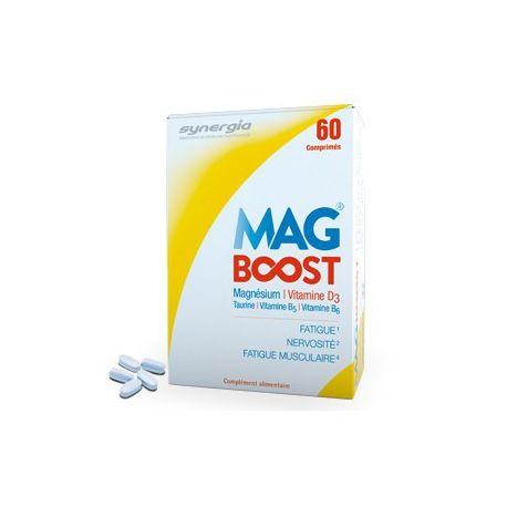Synergia Mag Boost magnésium liposomal 60 comprimés