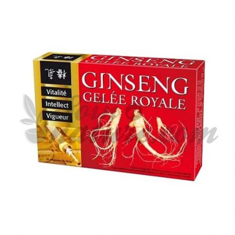 INELDEA Ginseng Royal Jelly 20 ampolles