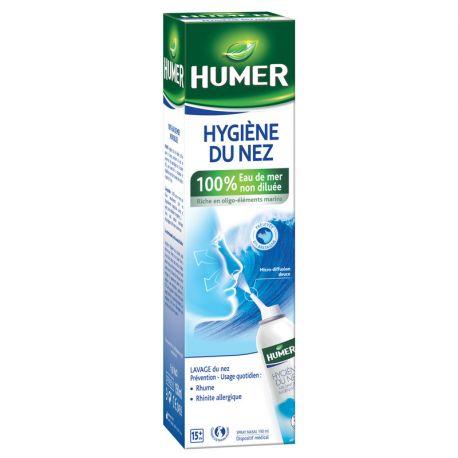 Humer Steriele Neusspray Adult zeewater 150ml