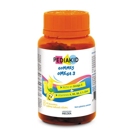 PEDIAKID Gums Kind OMEGA 3/60