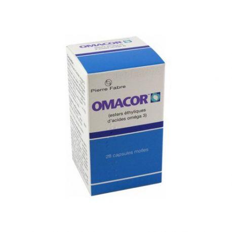 Omacor Omega3 28 Kapseln