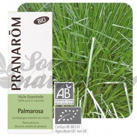 ESSENTIËLE OLIE BIO Palmarosa Palmarosa var. Motia 100ml PRANAROM